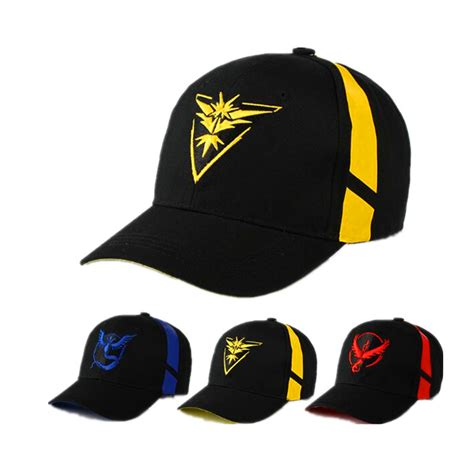 mobile go team valor team mystic team instinct snapback baseball cap hat in
