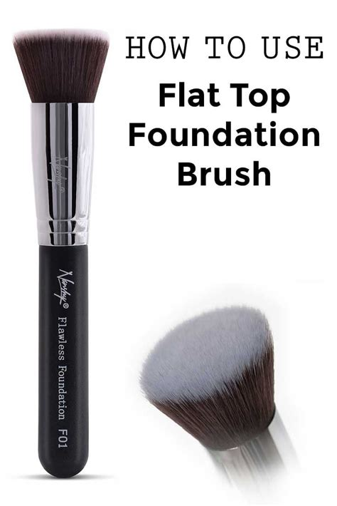 Foundation Brush how to use flat top foundation brush brushes flats and