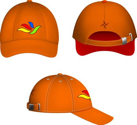 Cap Template Free Vector In Adobe Illustrator Ai Ai Vector Illustration Graphic Art Design Cap Design Template
