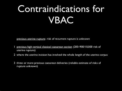 risks of a vbac after c section vaginal birth after c section vbac