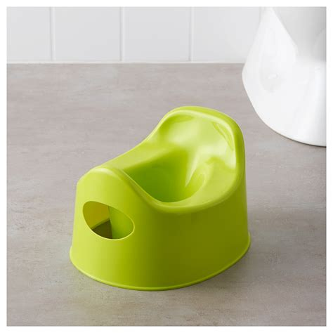 Ikea Lilla Children Potty Green lilla childrens potty ikea idolza