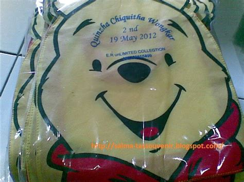 Goodie Bag Spunbond Ulangtahun tas kartun kedai souvenir