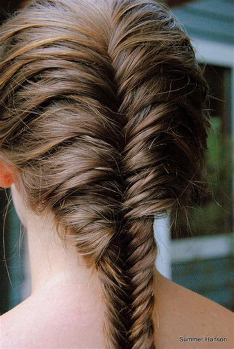fishtail braids hairstyles beautiful fishtail braid for hair hairstyles