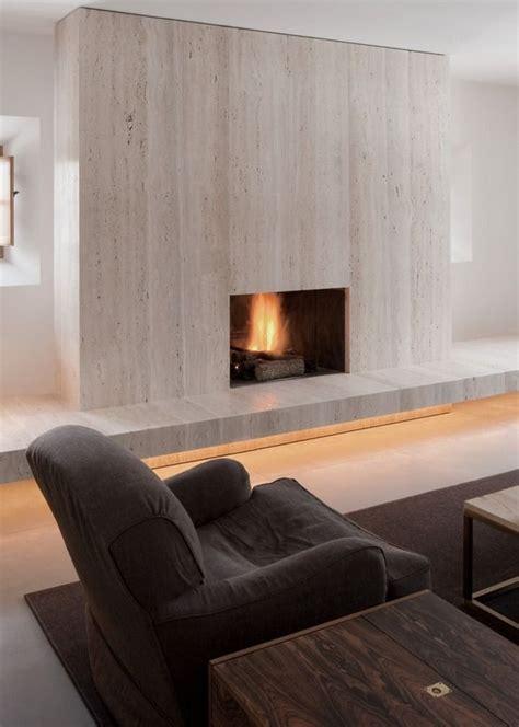 Pawson Fireplace by Travertine Fireplace By Pawson Warm Minimal