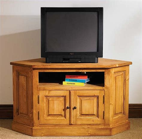 pine tv stands and cabinets hton waxed pine furniture corner television cabinet