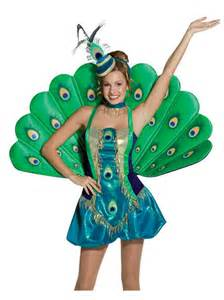 peacock fancy dress exotic animal costume xs m buy