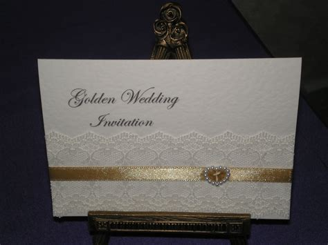 Golden Wedding Anniversary Invitation Golden Wedding Anniversary Invitation Cards Golden Anniversary Invitation Templates