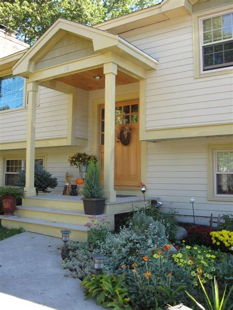 split level front porch designs top 25 best split level remodel ideas on