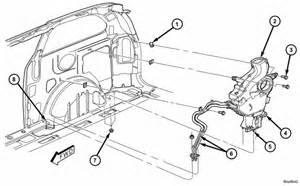 how to replace rear evaporator on 2005 dodge grand caravan