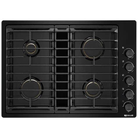jgdgb jenn air  downdraft gas cooktop black