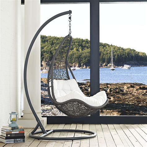 Patio Swing Chair by Modterior Outdoor Outdoor Chairs Abate Outdoor