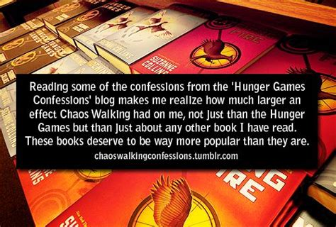 libro hunger makes me a chaos walking series by patrick ness vs hunger games from