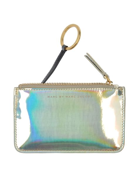 Marc By Marc Lovely Luz Purse by Marc By Marc Coin Purse In Silver Gold Lyst