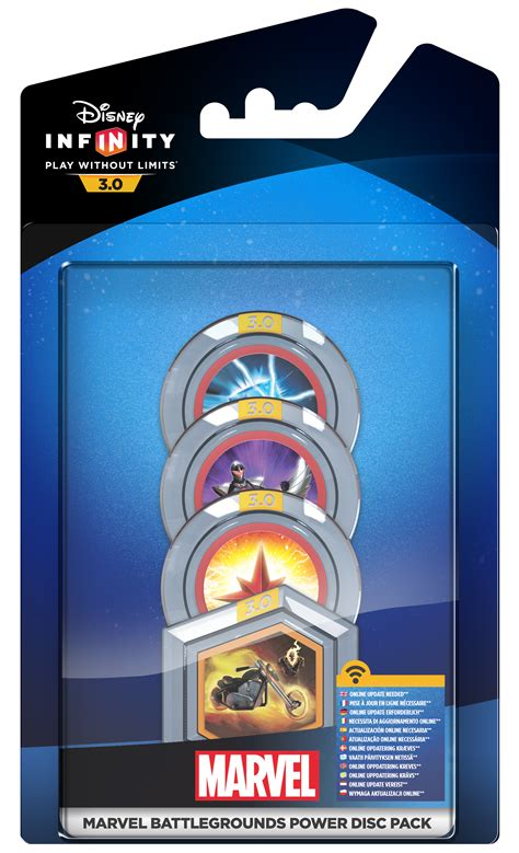 Infinity 3 0 Auto by Disney Infinity 3 0 Power Disc Pack 187 193 Rg 233 P