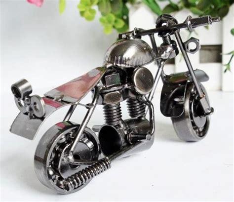 Miniatur Patung Jamurmobil Dan Sepeda Unik Doll jenis jenis kerajinan bahan keras