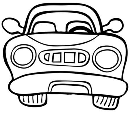 Auto Malen Bilder by Kostenlose Malvorlage Transportmittel Auto Vorne Zum