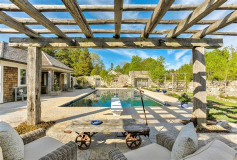 French Country Farmhouse For Sale Home Bunch Interior Pergola Beams For Sale