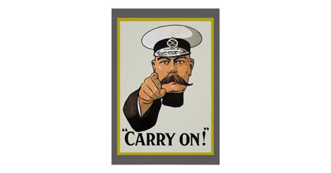 Lord Kitchener Poster Make Your Own by Vintage Lord Kitchener Carry On Poster Zazzle