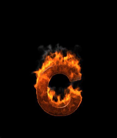 letter c on fire video ezmediart it s easy