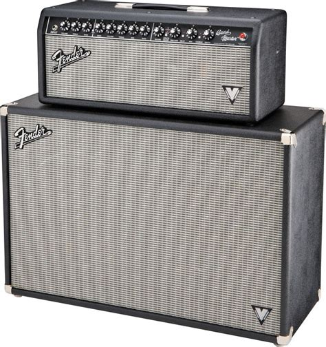 fender band master vm 212 160w 2x12 guitar speaker cabinet