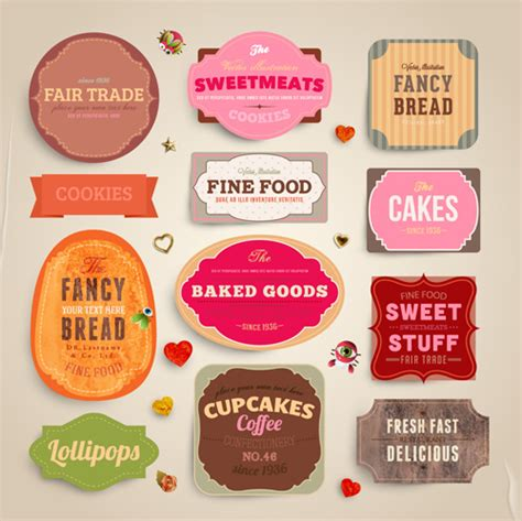 label design cdr free download food label design free vector download 13 001 free vector