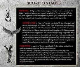 scorpio stages scorpio quotes
