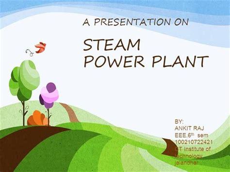 plant layout powerpoint presentation steam power plant authorstream