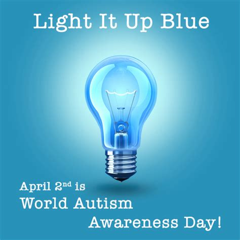 world autism awareness day light it up blue