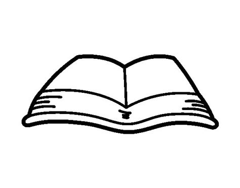 an open book coloring page coloringcrew com