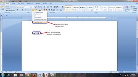 fungsi layout script adalah saling berbagi cara mengubah format huruf pada ms word