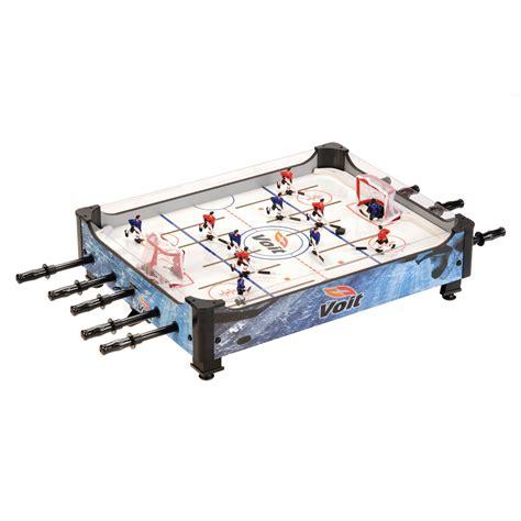 table top hockey voit 33 quot table top rod hockey fitness sports family recreation room