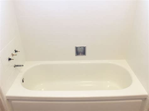 refurbishing bathtubs shower wall refinish bathtub refinishers