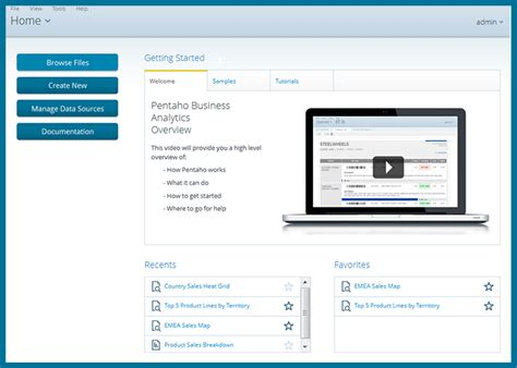 web based home design tool business analytics pentaho documentation
