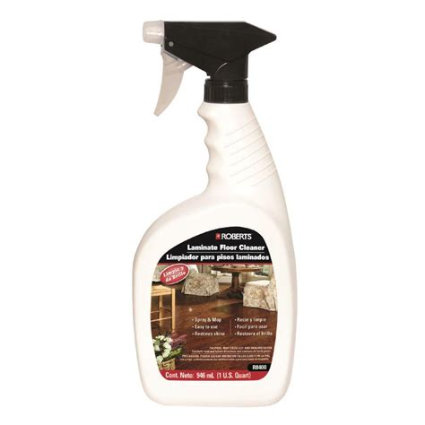 roberts 32 oz laminate and wood floor cleaner spray bottle r8400mx 0 the home depot