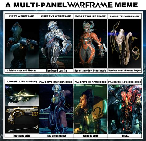 Warframe Memes - what i ve been through on warframe by skullrmvr meme center