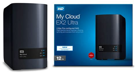 Wd My Cloud Ex2 Ultra Personal Cloud Storage 4tb Black 1 the western digital my cloud ex2 ultra nas offers