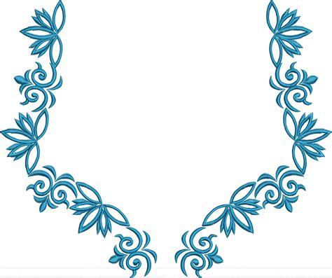 design free embroidery designs kaftane neck