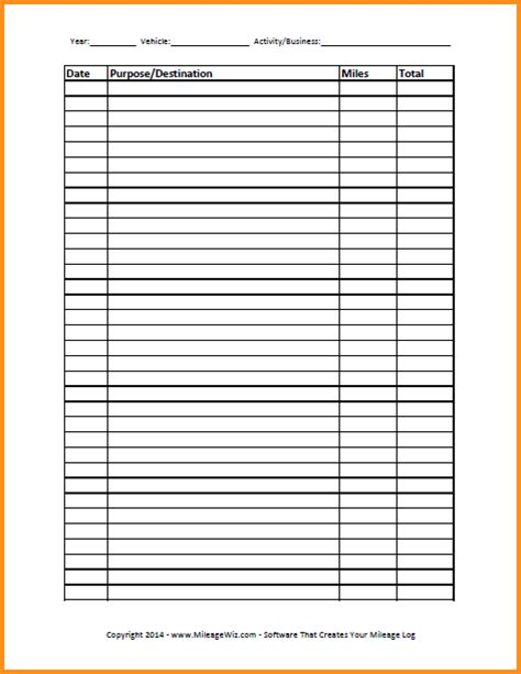 Mileage Spreadsheet For Taxes by 28 Mileage Spreadsheet For Taxes Vehicle Mileage Expense