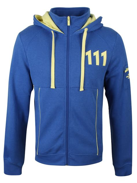 Hoodie Pullover All Time Low Pcs 1 fallout 4 vault 111 s blue hoodie ebay