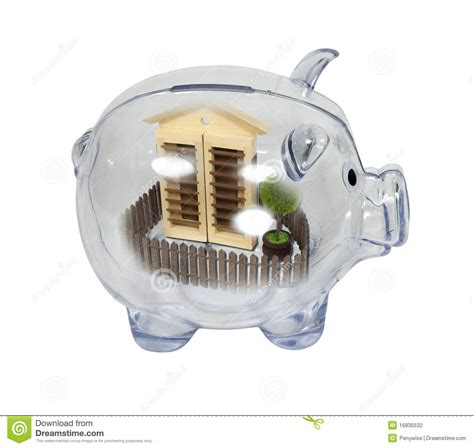 home savings stock photography image 16835532