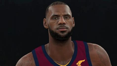 cavs news nba 2k18 releases first look at lebron james