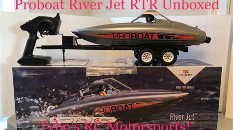proboat jet boat proboat river jet 23 quot rtr deep vee unboxed tybo s rc