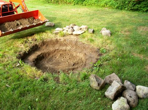 building a firepit in your backyard building a backyard fire pit home interior design