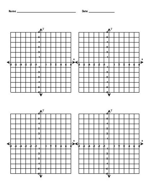 Math Worksheets Graph Paper by Data Illustrated Resources Coordinate Grid And Plane
