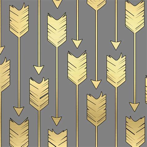 grey arrow pattern tribal arrows pattern fabric grey and golden fabric