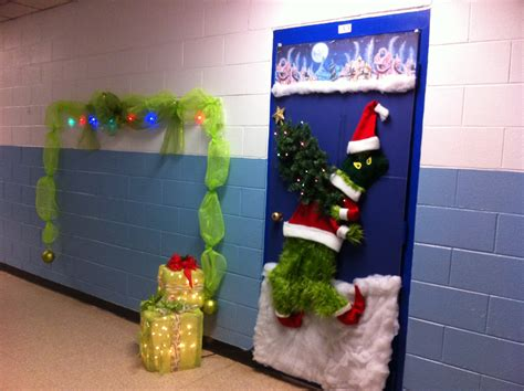 grinch door decorating contest entry dr seuss