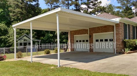 Aluminum Carport Kits by Custom Aluminum Carport Kit Aluminum Awnings Direct
