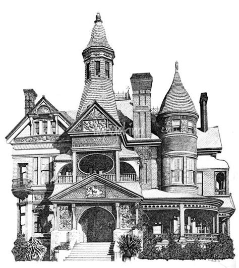 victorian house drawings the gallery for gt victorian house drawing
