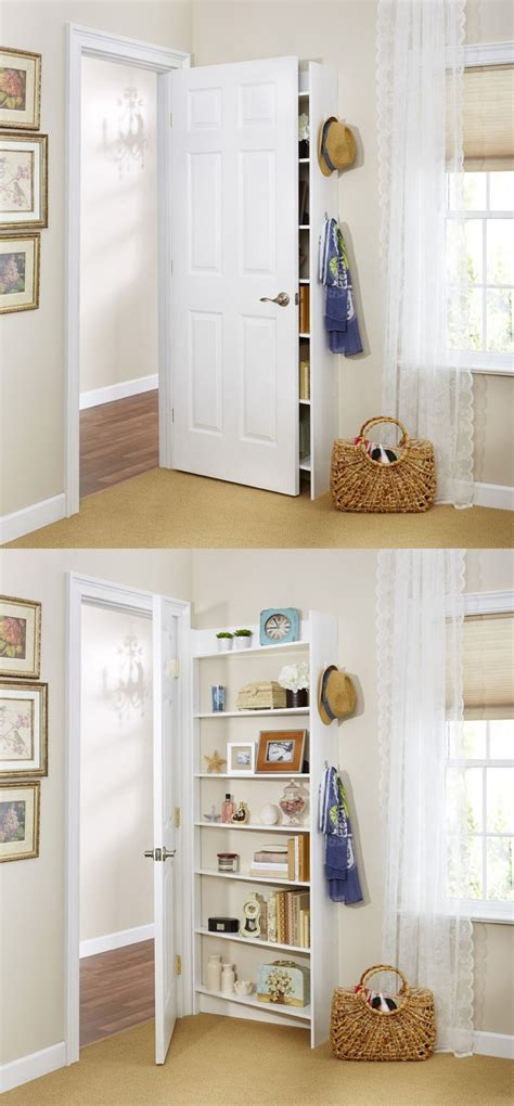 best 25 door shelves ideas on door storage