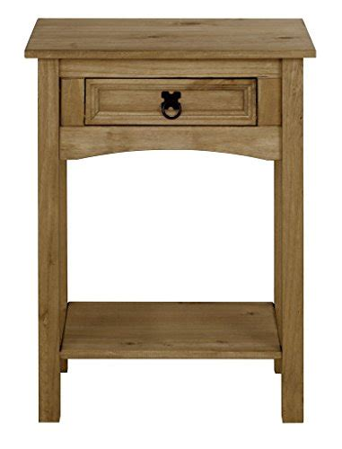 Distressed Console Table With Drawers by Corona 1 Drawer Console Table With Shelf In Distressed Wax